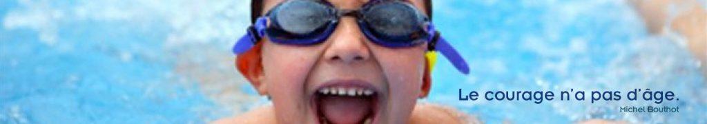 Cours de natation enfant à partir de 3 ans.